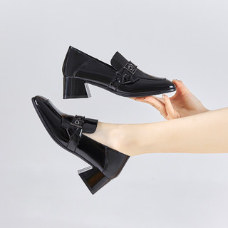 Five Plus 5+ 2NV2516640090  女士粗跟单鞋