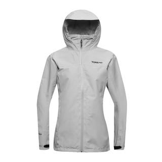 TOREAD 探路者 单层冲锋衣-不含内胆女户外女式戈尔冲锋衣 高级灰 M