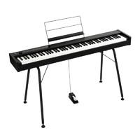 KORG科音电钢琴D1紧凑型数码钢琴日产RH3琴键舞台卧室88键电钢琴