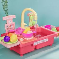Temi 糖米 儿童过家家玩具抖音同款厨房仿真洗碗机套装 趣味角色扮演亲子