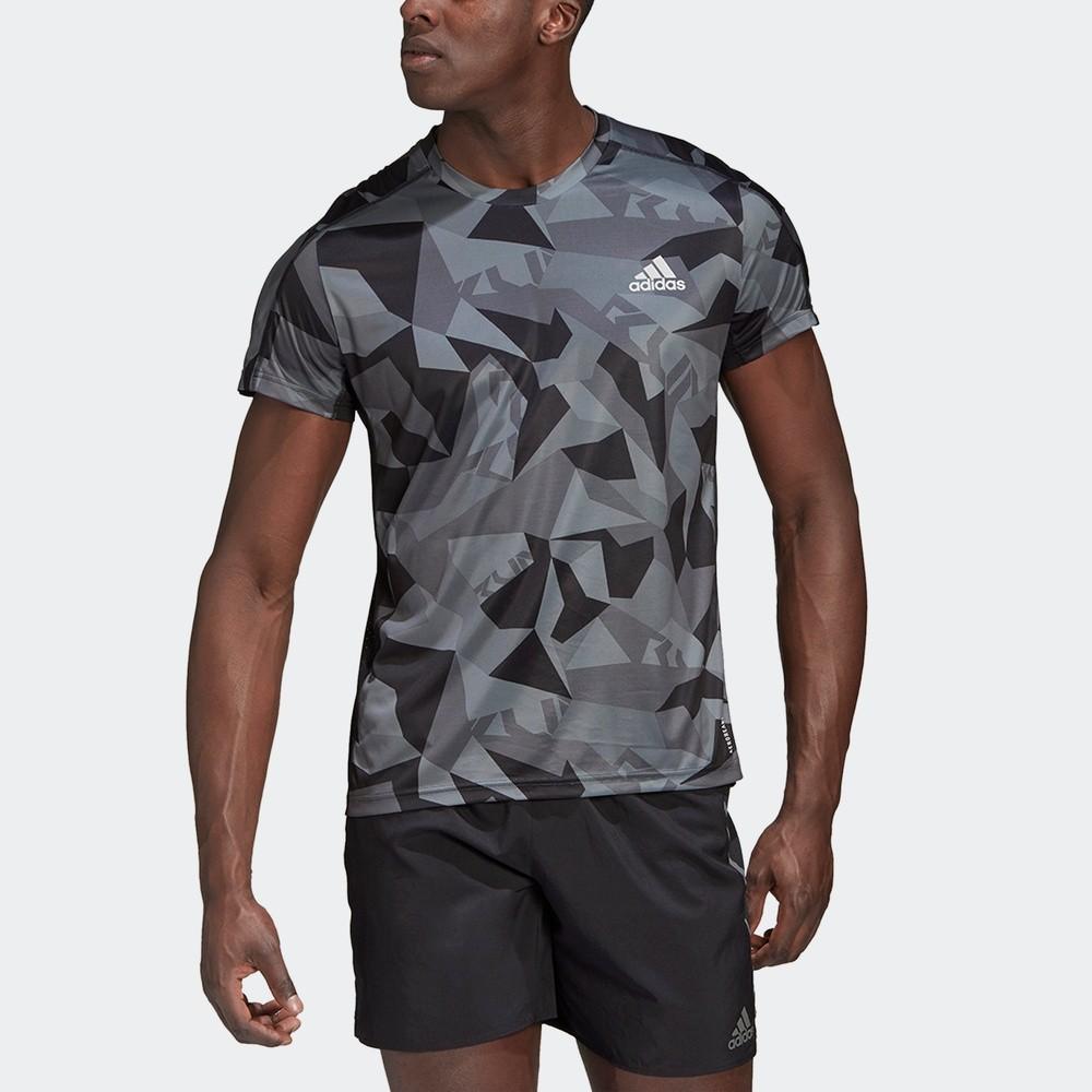adidas 阿迪达斯 OWN THE RUN TEE GK8161 男款运动T恤
