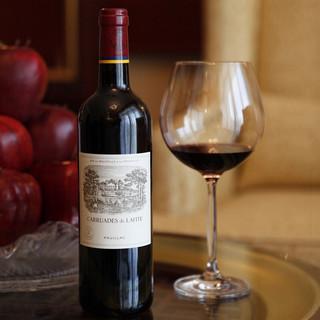 CHATEAU LAFITE ROTHSCHILD 拉菲古堡 拉菲珍宝/小拉菲 古堡副牌干红葡萄酒 法国原瓶进口红葡萄酒1855一级庄 2018年 750ml 单瓶装 (ASC)