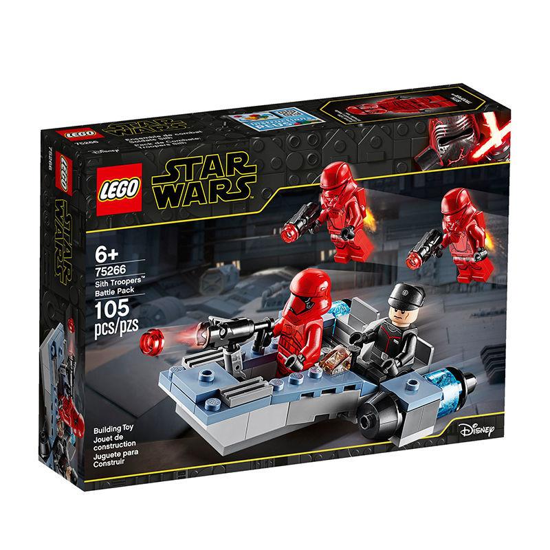 LEGO 乐高 星球大战系列 75266 西斯冲锋队员战斗套装