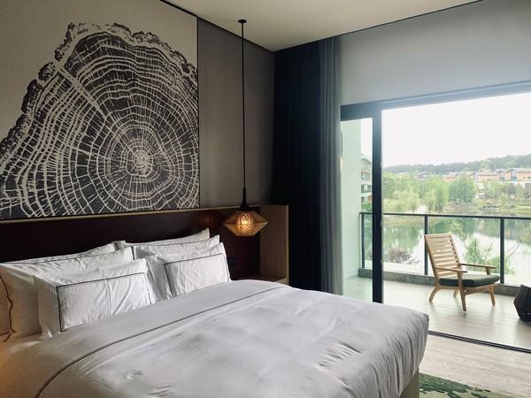 重庆美利亚酒店 美利亚园景房(视房态升级林景房)1-2晚 含早餐+迷你吧