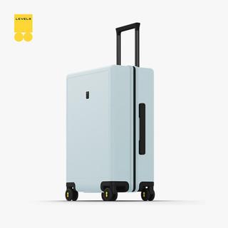 LEVEL8 地平线8号 行李箱拉杆箱24英寸托运箱 德国科思创PC箱体男女旅行箱 极光绿