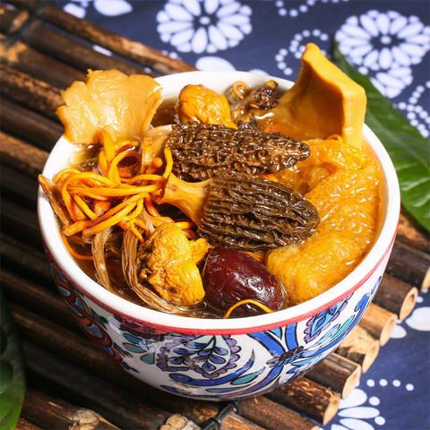 云南特产 七彩菌汤包干货菌菇  80g*3包