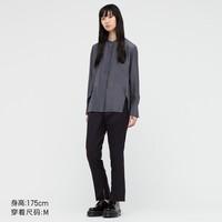 UNIQLO 优衣库 437789 女士长袖衬衫