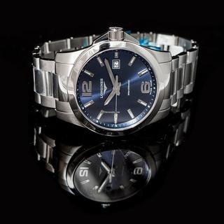 LONGINES 浪琴 康卡斯系列 L3.759.4.96.6 男士手表