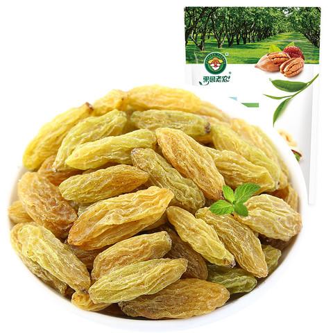 ORCHARD FARMER 果园老农 蜜饯果干 新疆特产 大颗粒绿提葡萄干450g