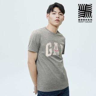 Gap 盖璞 男女装LOGO纯棉短袖T恤848801 2021夏季新款