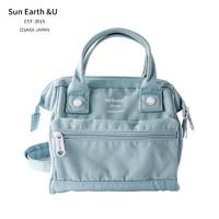 sun earth&u 日系日本乐天斜挎包 莫兰迪色三用包