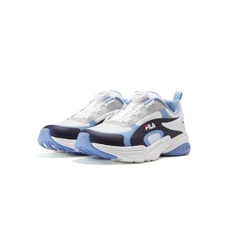 FILA 斐乐 男中大童(33-40)男童鞋21年新品低帮透气儿童运动鞋跑鞋