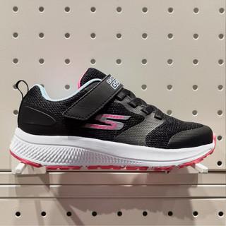 SKECHERS 斯凯奇 新款女童鞋魔术贴运动鞋网布透气儿童休闲鞋跑步鞋