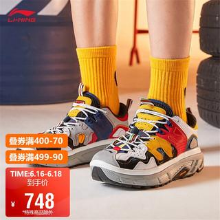LI-NING 李宁 中国李宁篮球鞋巴黎时装周春夏系列走秀款ACE Low男子篮球休闲鞋AGBQ0652