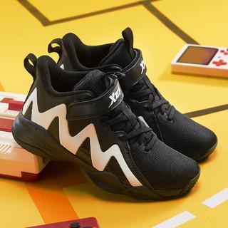 XTEP 特步 男童中大童时尚篮球鞋运动鞋