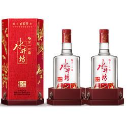 swellfun 水井坊 臻酿八号 禧庆版 52度 浓香型白酒  500ml*2 双支装