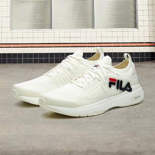 FILA 斐乐 男鞋运动鞋跑步鞋男舒适轻盈网面透气训练鞋健身鞋