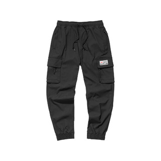 SKECHERS 斯凯奇 2021年新款男女同款长裤梭织休闲跑步运动裤束脚裤