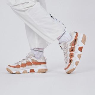 FILA 斐乐 男鞋FUSION系列篮球鞋低帮舒适透气复古运动鞋休闲鞋男