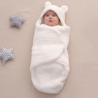 DIGUMI 迪咕咪 婴儿抱被新生儿秋冬季加厚款纯棉包裹被初生包被襁褓宝宝外出睡袋