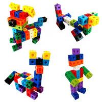 西克里 百变正方体方块积木 60粒
