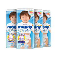 moony 婴儿纸尿裤 XL 38片*4