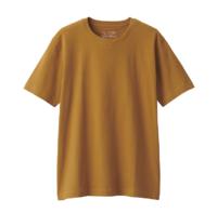 MUJI 无印良品 ABA01A0S 男士T恤浅橙色X与XL
