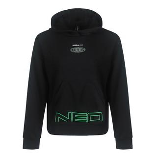 adidas NEO 春季新款时尚百搭 女款针织运动套头衫 女式卫衣女