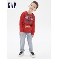 16日0点:Gap 盖璞 儿童蜘蛛侠抓绒红色卫衣