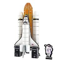 JIMITU 吉米兔 3D立体拼图 航天飞机