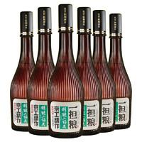 一担粮 5A精酿 小棕瓶 42度 清香型白酒 480ml *6瓶