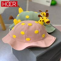 HOCR 儿童小鹿角渔夫帽