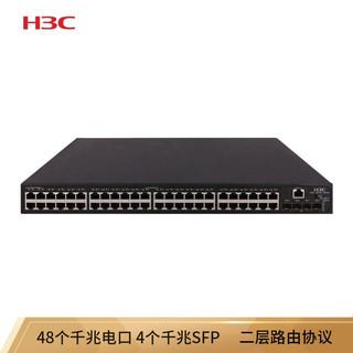H3C 新华三 华三(H3C)S5130S-52P-PWR-EI 48千兆电(POE ) 4千兆光 企业级交换机