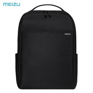 MEIZU 魅族 双肩包电脑包15.6英寸男女商务背包旅行包休闲防泼水书包笔记本电脑包 黑色