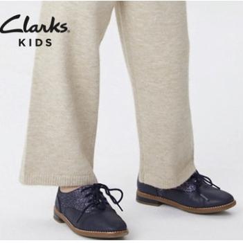 16日0点 : Clarks 其乐 系带英伦女童小皮鞋