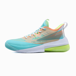PEAK 匹克 态极闪电2021篮球鞋 减震透气低帮实战网面球鞋男
