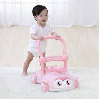 Baoli 宝丽 宝宝学步车手推车多功能婴儿学走路助步车防侧翻儿童手推玩具