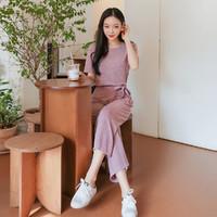 HSTYLE 韩都衣舍 夏韩版女装两件套时尚心机时髦套装