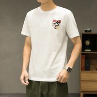 JEANSWEST 真维斯 JY01-173183-003JJ 男式休闲印花T恤