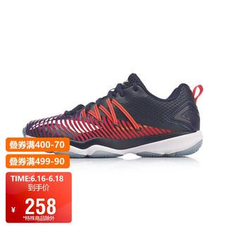 LI-NING 李宁 羽毛球鞋女鞋RangerTD女子耐磨防滑羽毛球训练鞋AYTP012