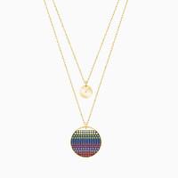 SWAROVSKI 施华洛世奇 5397843 双层彩虹水晶项链