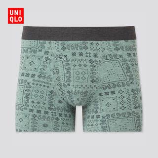 UNIQLO 优衣库 男装SUPIMA COTTON针织短裤(印花 内裤 棉质) 434723