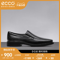ecco 爱步 ECCO爱步商务正装皮鞋男 复古真皮休闲鞋德比鞋男鞋 新泽西051504