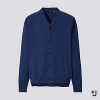 UNIQLO 优衣库 J系列 437813 男士V领针织开衫