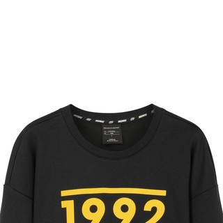 SKECHERS 斯凯奇 春秋新款男子撞色LOGO针织套头衫运动卫衣L420M003