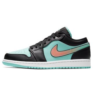 NIKE 耐克 男子 篮球鞋 乔1 AIR JORDAN 1 LOW SE 运动鞋 CK3022-301热带绿色42.5码