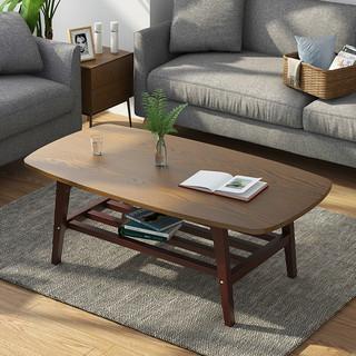 茶几简约客厅小户型实木矮桌北欧现代中式喝茶小茶几经济型家用