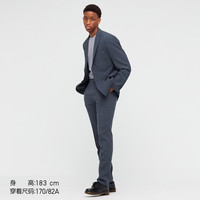 UNIQLO 优衣库 439674 男装  J 羊毛修身长裤