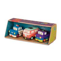 B.Toys 比乐 益智玩具胶质滑行回力车 跑车卡车工程车