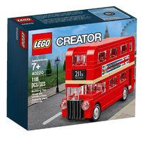 LEGO 乐高 Creator系列 40220 伦敦巴士